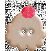 June Good Life- Summer Ice Cream Button