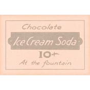 June Good Life- Summer Ice Cream Soda Vintage Label