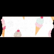 June Good Life- Summer Ice Cream Washi Tape