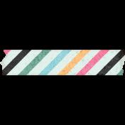 June Good Life- Summer Striped Washi Tape