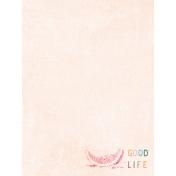 June Good Life- Summer Good Life Journal Card 3x4