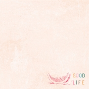 June Good Life- Summer Good Life Journal Card 4x4
