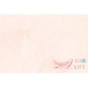 June Good Life- Summer Good Life Journal Card 4x6