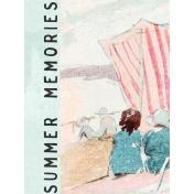 June Good Life- Summer Memories Journal Card 3x4
