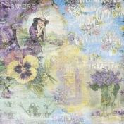 May Flower Power- Blended Paper Violets