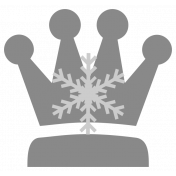 Snow Baby Templates- Crown