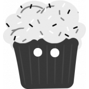 Comfort Food Templates- Cupcake Button