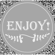 Comfort Food Templates- Enjoy Label
