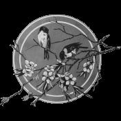 Spring Day Templates- Birds Label