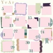 Calendar Layout Template: Right