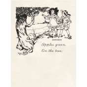 Kids Ahead- Apple Tree Journal Card 3x4
