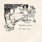 Kids Ahead- Apple Tree Journal Card 4x4