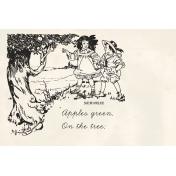 Kids Ahead- Apple Tree Journal Card 4x6