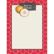 Kids Ahead- Back to School Journal Card 3x4