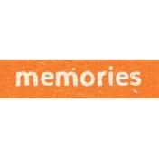 Kids Ahead- Memories Word Art