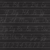 Kids Ahead- Alphabet Chalkboard Paper