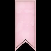 Summer Twilight- Pink Banner Tag