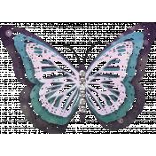 Summer Twilight- Butterfly