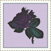 Summer Twilight- Rose Stamp
