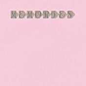 Summer Twilight- Memories Journal Card 4x4