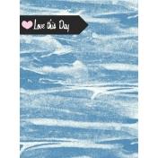 Summer Twilight- Clouds Journal Card 3x4