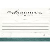 Summer Twilight- Summer Stories Journal Card 4x6
