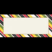 Heading Back 2 School Label- Striped