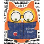 Heading Back 2 School Owl