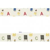 Heading Back 2 School- ABC 4x6 Journal Card