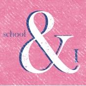 Heading Back 2 School- School 4x4 Journal Card