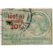 Frenchy Postage Stamp