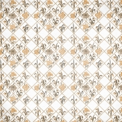 Frenchy Floral Diamond Paper