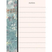 Orchard Traditions Notes Journal Card 3x4