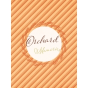 Orchard Traditions Orchard Memories Journal Card 3x4