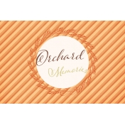 Orchard Traditions Orchard Memories Journal Card 4x6