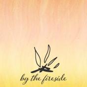 Bonfire Memories By the Fireside Journal Card 4x4