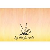 Bonfire Memories By the Fireside Journal Card 4x6