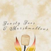 Bonfire Memories Toasty Toes & Marshmallows Journal Card 4x4