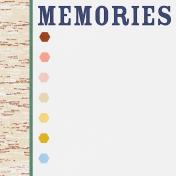 Bonfire Memories Memories Journal Card 4x4
