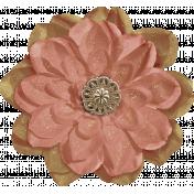 Warm n Woodsy Glitter Flower