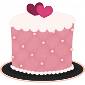 Legacy of Love Cake with Hearts Top