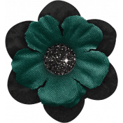 Legacy of Love Black and Green Flower