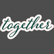 Legacy of Love Together Word Art