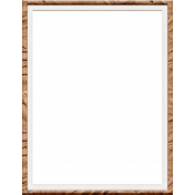 Inner Wild Wood Photo Frame