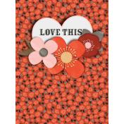 Inner Wild Love This Journal Card 3x4