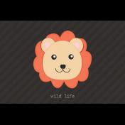 Inner Wild Lion Journal Card 4x6