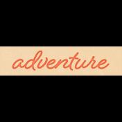 Inner Wild Adventure Word Art