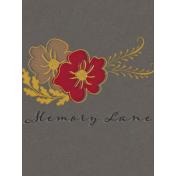 Reminisce Memory Lane Journal Card 3x4