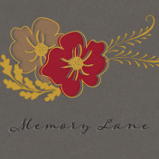 Reminisce Memory Lane Journal Card 4x4
