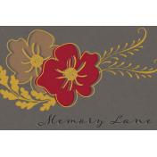 Reminisce Memory Lane Journal Card 4x6